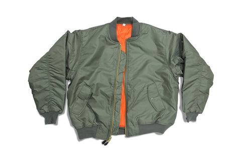 ROTHCO MA-1 Flight BOMBER Jacket - OLIVE