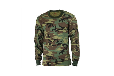 ROTHCO LONG SLEEVE SHIRT - CAMO