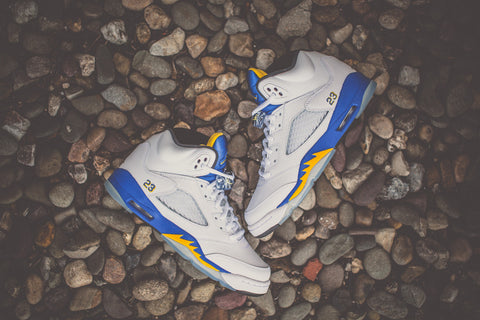 "AIR JORDAN RETRO 5 2013 ""LANEY"" 136027 189"