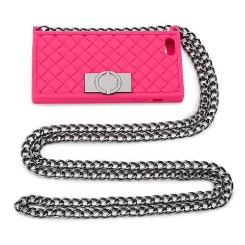 OJACKY Smartphone iPhone Crossbodybag pink for iphone5