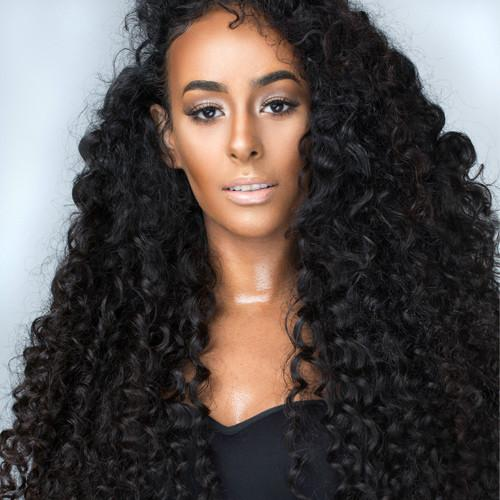 Indian CURLY FRONTAL HD Lace - Snob Life