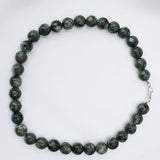 Seraphinite bead necklace