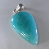 Amazonite minimal set pendant