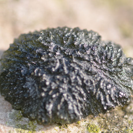 Moldavite perfect specimen