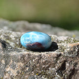 Larimar crystal polished pebble