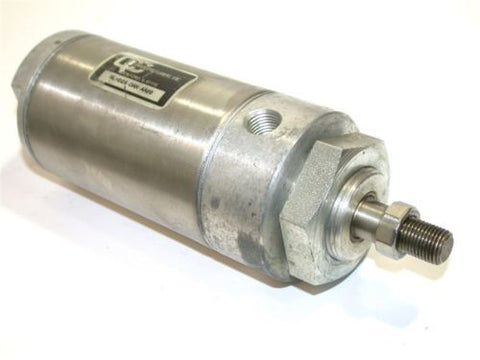 "C&C MANUFACTURING 2"" STROKE STAINLESS AIR CYLINDER 2 1/2"" BORE RLH02A-DAN-AA00"