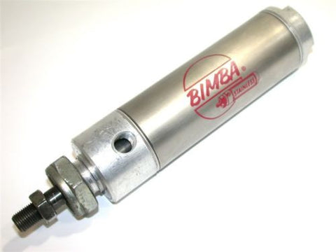 "BIMBA 3"" STROKE STAINLESS AIR CYLINDER 243-DP"