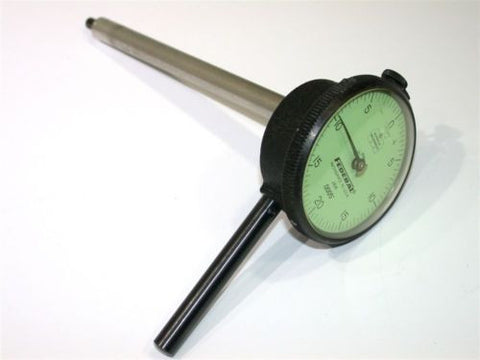 "UP TO 2 FEDERAL DIAL .0005"" INDICATOR EXTENDED 5"" PERPENDICULAR STEM MODEL J6K"