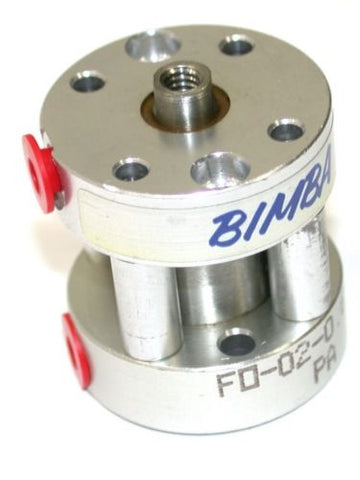 "UP TO 2 NEW 5/8"" STROKE BIMBA PANCAKE AIR CYLINDERS FO-02-0.625"