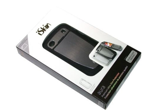 New iSkin AR9900-BK2 Aura Case for BlackBerry 9900/9930 Black FREE SHIPPING
