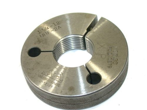 "GREENFIELD NO GO THREAD RING GAGE 1 1/4""-12-UNF-2A"