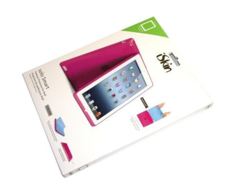 New iSkin Solo Smart Case for iPad 2, 3 & 4, Pink ID3SLM-PK4- FREE SHIPPING