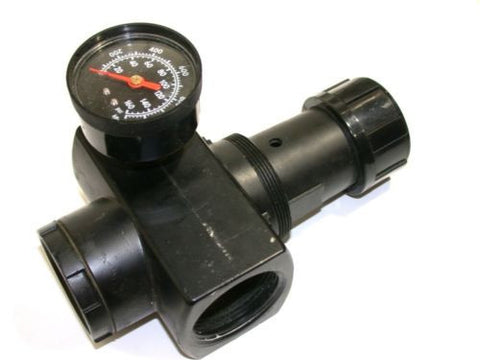 "NORGREN AIR REGULATOR W/ GAUGE 1 1/2"" NPT R17-800-RGLA"