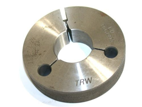 "TRW 1 1/8""-28 UN-2A LO THREAD RING GAGE"