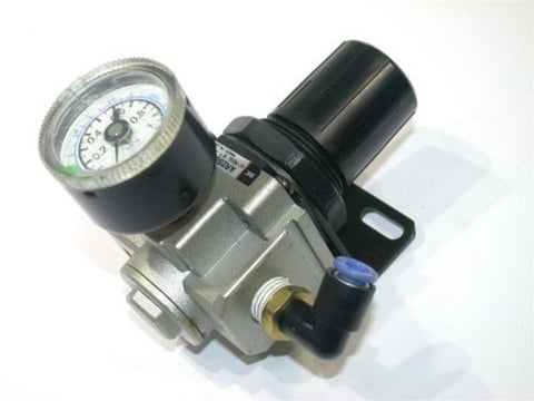 UP TO 2 SMC AIR REGULATORS WITH GAUGE AR2560-02BG