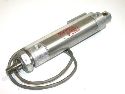 "BIMBA 2"" STROKE STAINLESS AIR CYLINDER W/SENSOR MRS-092-DXPZ"