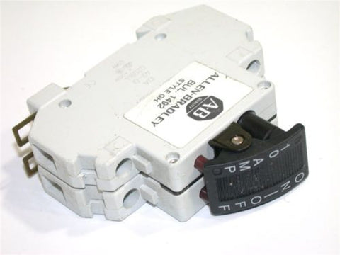 UP TO 18 ALLEN BRADLEY 10AMP 2POLE 125VAC/65VDC CIRCUIT BREAKERS 1492-GHD100F