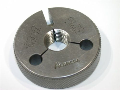 "ALAMEDA GO THREAD RING GAGE 1/2""-20-UNF-2A"
