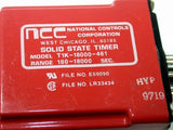 UP TO 3 NATIONAL CONTROLS NCC TIMER 180 - 18000 SECONDS 120VAC T1K-18000-461