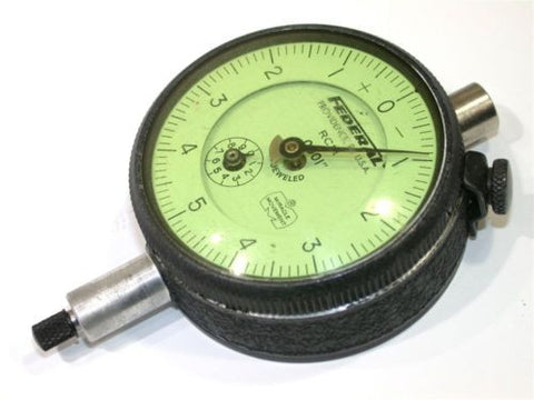 "FEDERAL LARGE DIAL .0001"" INDICATOR W/REVOLUTION COUNTER MODEL RC2I"