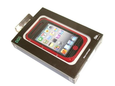 iSkin Touch Duo for iPod Touch 4th Generation Blaze Red TCDUO4-RD FREE SHIPPING