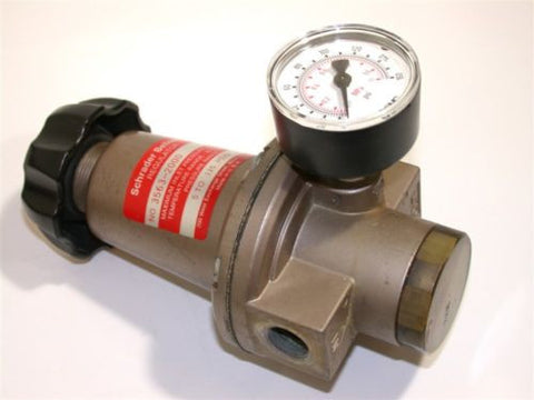 "NEW SCHRADER BELLOWS 3/8"" AIR REGULATOR W/GAGE 3563-2000"