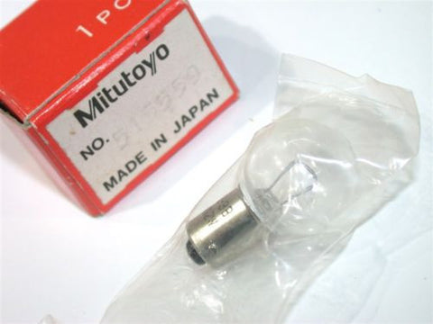 NEW MITUTOYO HALOGEN 24V 2 WATTS MICROSCOPE LIGHT BULB 383038