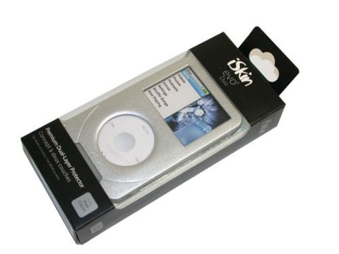 New iSkin Evo4 Duo Case - Silver -for iPod classic - E4R2SR-A FREE SHIPPING