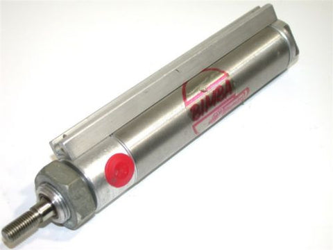 "BIMBA 3"" STROKE 1 1/16"" BORE STAINLESS AIR CYLINDER MRS-093-DZ"