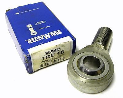 "BRAND NEW IN BOX SEALMASTER TRE-16 ROD END BEARING 1"" BORE (2 AVAILABLE)"