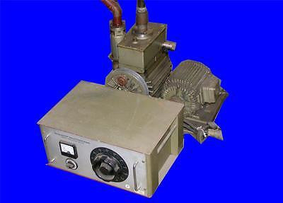 VERY NICE PFEIFFER BALZERS DUAL STAGE BELT DRIVEN ROTARY VACUUM PUMP DUO 25
