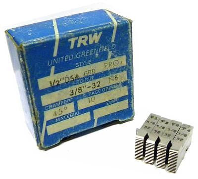 "NEW SET OF TRW THREAD CHASERS 1/2"" DSA GRD PROJ TO CUT 3/8"" -32 NS"