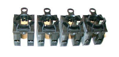 LOT OF (4)  KLOCKNER MOELLER CONTACT BLOCK ASSEMBLIES 1 N.O. 1 N.C.   MODEL BK11