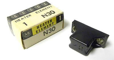 NEW ALLEN BRADLEY AB CONTACT OVERLOAD HEATER ELEMENT MODEL N30 (2 AVAILABLE)