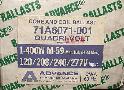 ADVANCE 71A6071-001  CORE AN COIL BALLAST KIT 400 WATT 120-277 VAC