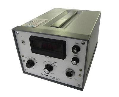 LDJ ELECTRONICS GAUSSMETER MODEL 511 - SOLD AS IS