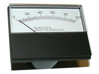 CONTROL INSTRUMENTS  MTR001  PERCENTAGE PANEL METER 0-100 %