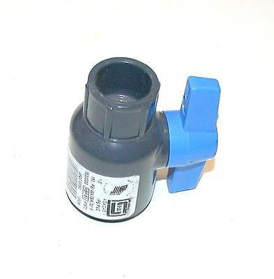 "NEW SPEARS 2622-005G GRAY UTILITY  PVC BALL VALVE 1/2"" SCHEDULE 80  NSF-61"