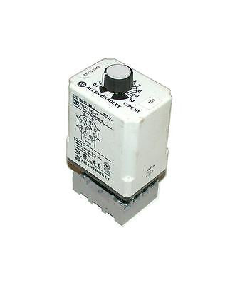 ALLEN BRADLEY TIME DELAY RELAY 0.1-10 SECONDS 10, AMP MODEL 700-HT12AA2