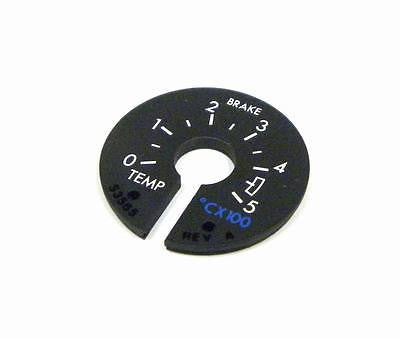 NEW HORIZON AEROSPACE S3565 BRAKE TEMPERATURE DIAL 0-5°C X 100