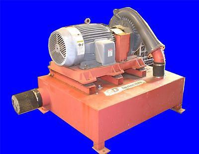 GARDNER DENVER AEROFLOW 40 HP INVINCIBLE BLOWER UNIT MODEL 7023 230/460 VOLTS