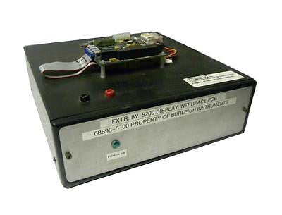 BURLEIGH INSTRUMENTS 08698-5-00 TEST FIXTURE FOR FXTR.IW-8200 DISPLAY INTERFACE