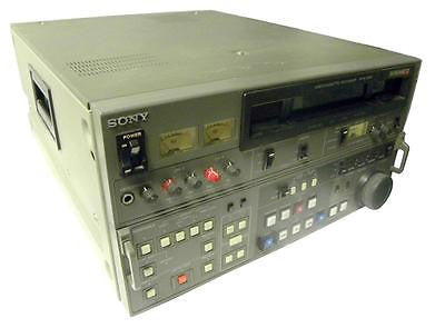 SONY BETACAM SP VIDEO CASSETTE RECORDER MODEL PVW-2800 - SOLD AS IS
