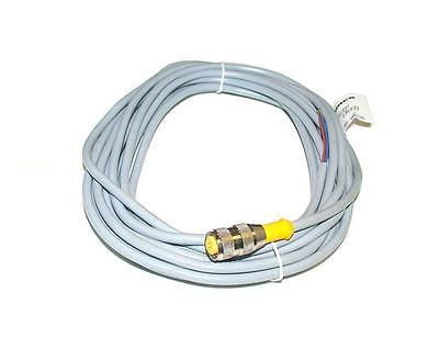 NEW TURCK EUROFAST MOLDED CORDSET CABLE MODEL RK4.2T-6 (3 AVAILABLE)