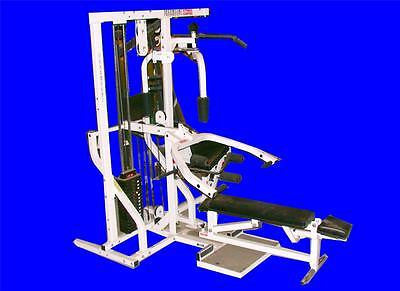 VERY NICE PARAMOUNT FITNESS PFC FITNESS CENTER 17 EXERCISES MULTI GYM SYSTEM