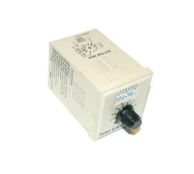 POTTER & BRUMFIELD  CNS-35-96   8-FUNCTION TIME DELAY 10 AMP 240 VAC