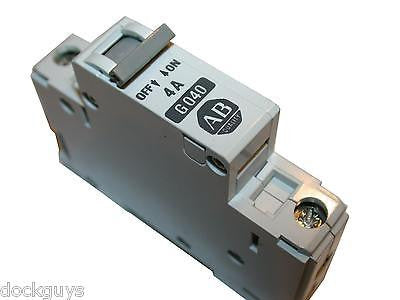 UP TO 40 ALLEN BRADLEY 4 AMP CIRCUIT BREAKERS 1492-CB1 G040