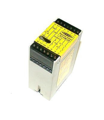 BANNER ENGINERRING   AT-FM-2A  MACHINE SAFETY RELAY 24 VAC/DC