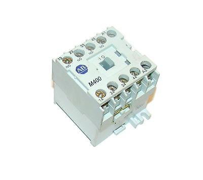 ALLEN BRADLEY CONTROL RELAY 24 VDC 10 AMP 4 N.O. CONTACTS  (3 AVAILABLE)