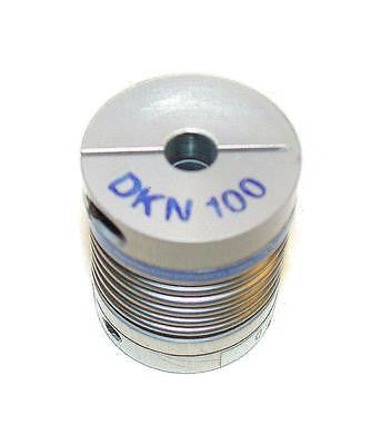 RIMTEC CORP ALUMINUM BELLOWS COUPLING MODEL DKN100